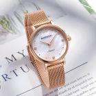 罗西尼(ROSSINI)手表CHIC系列送女友简约女表甜美风石英表编织钢带女士腕表 517776(一口价)