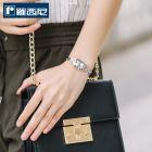 罗西尼(ROSSINI)女石英表简约气质小巧女表钢带手链方形女士手表1260